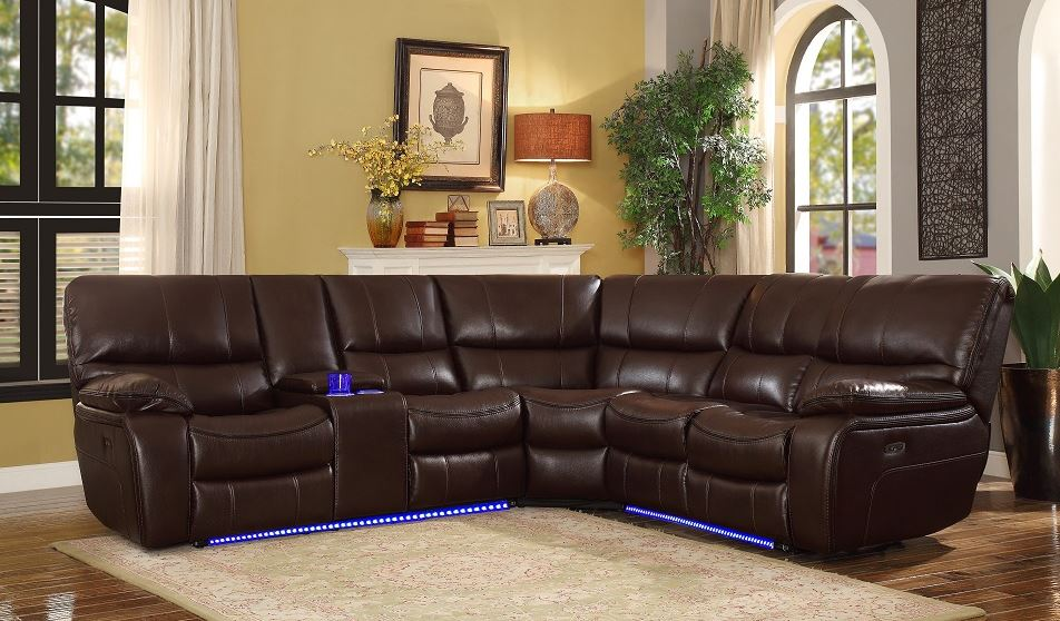 Pecos Power Reclining Sectional