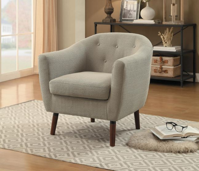 Lucille Accent Chair Beige