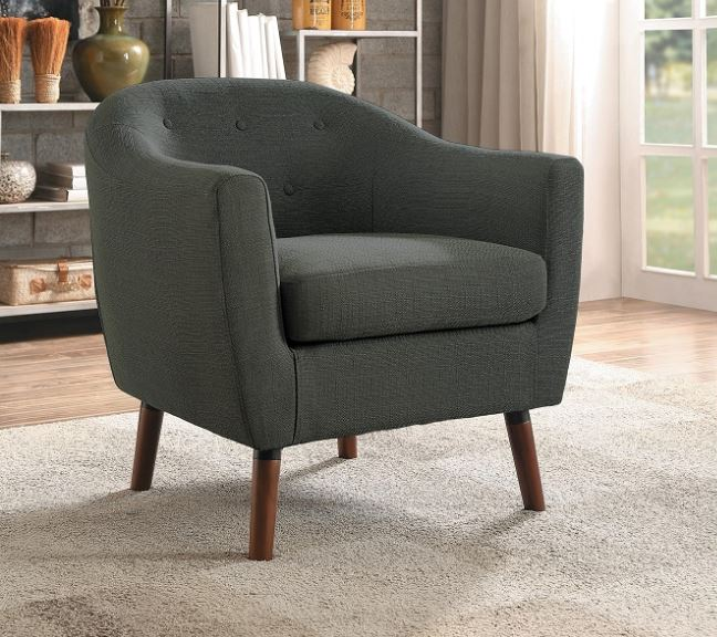 Lucille Accent Chair Gray