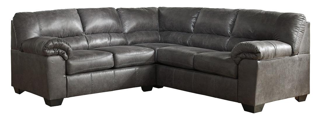 Bladen Sofa Love Sectional in Slate