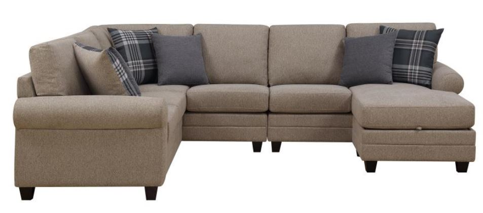 Summerland Sectional With Reversible Chaise