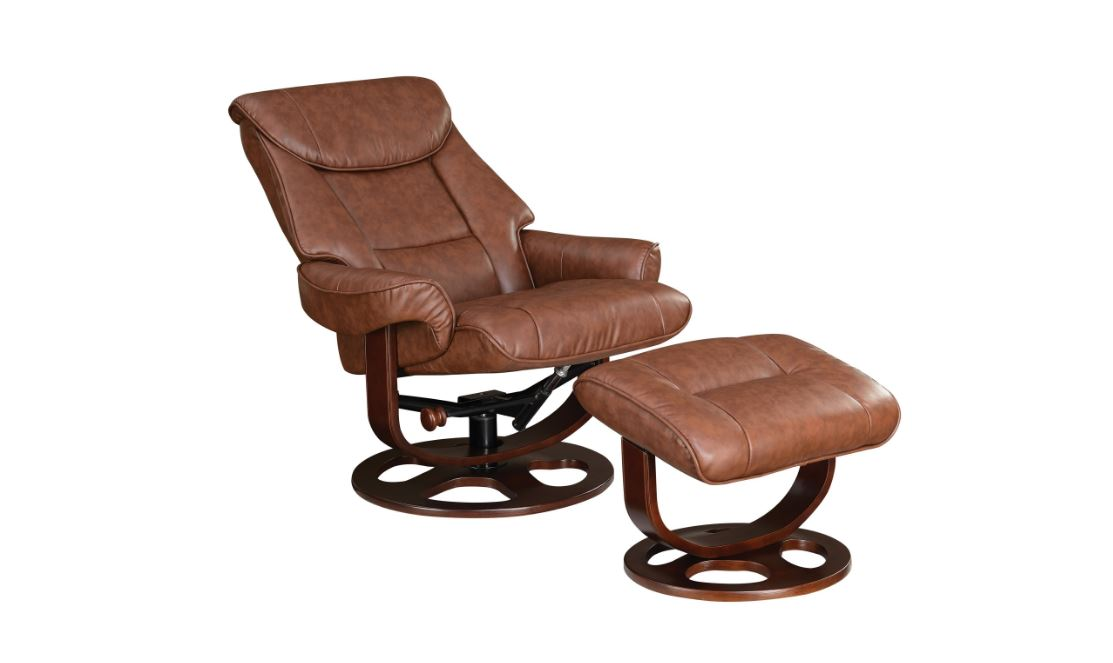 Ergonomic Recliner with Ottoman