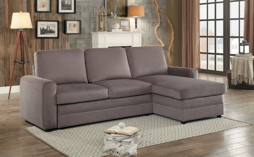Welty Sectional with Pull Out Bed & Storage