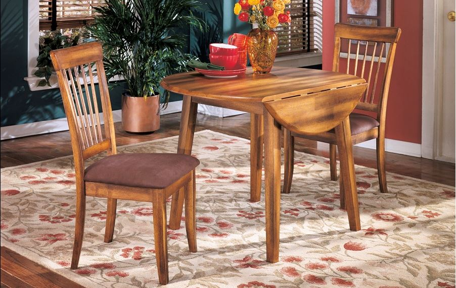 Berringer Drop Leaf Table with 2 Chairs