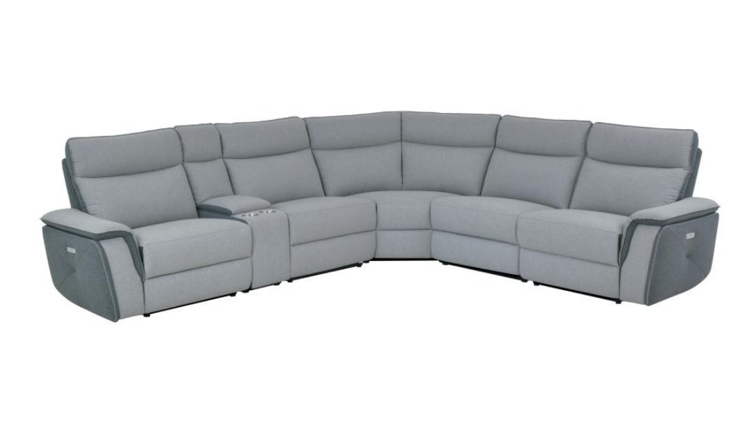 Maroni Power Recliner Sectional