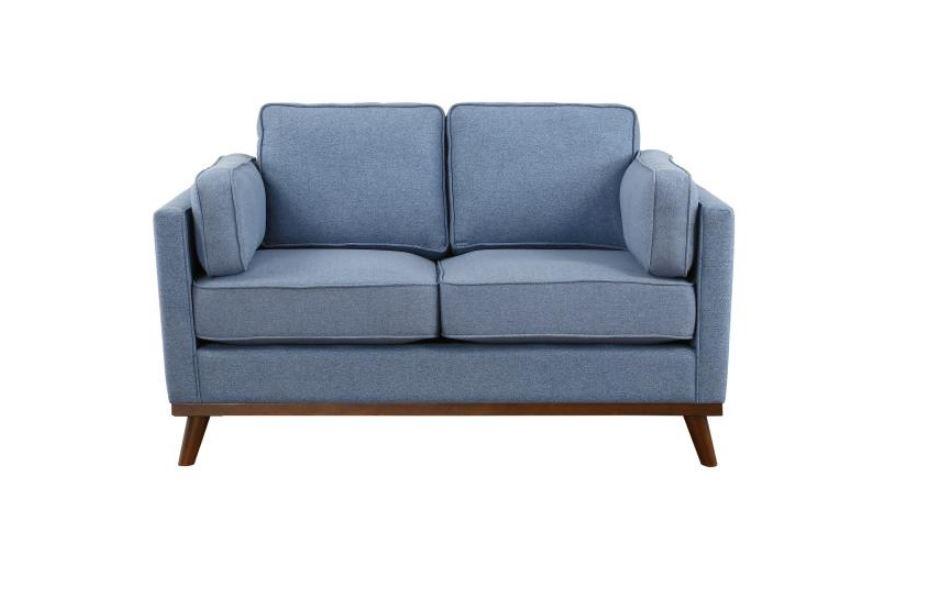 Bedos Mid-Century Modern Love Seat
