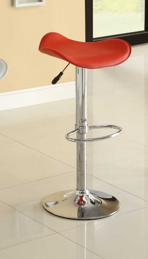 Airlift Swivel Stool Red