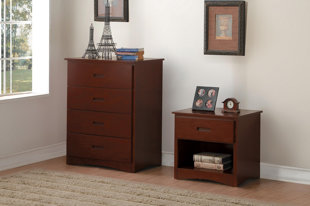Rowe Collection Chest & Night Stand