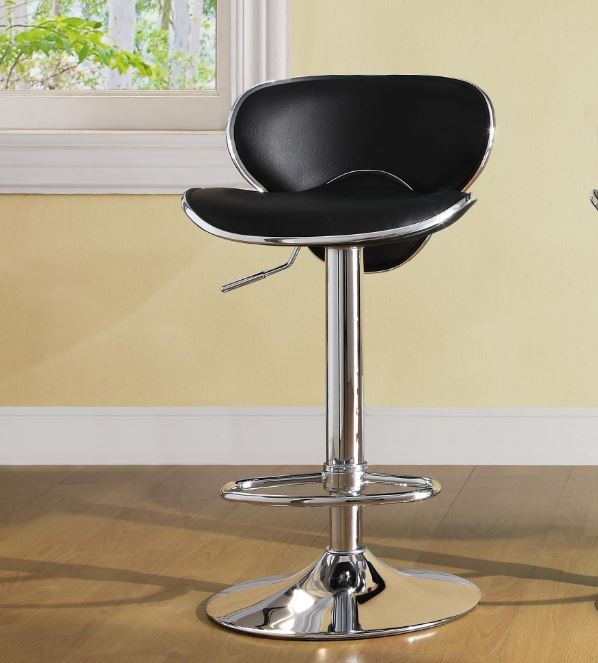 Airlift swivel stool Black