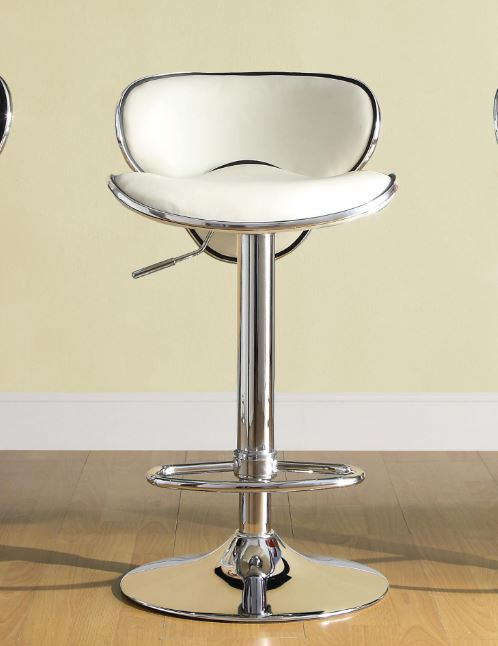 Airlift Swivel Stool White