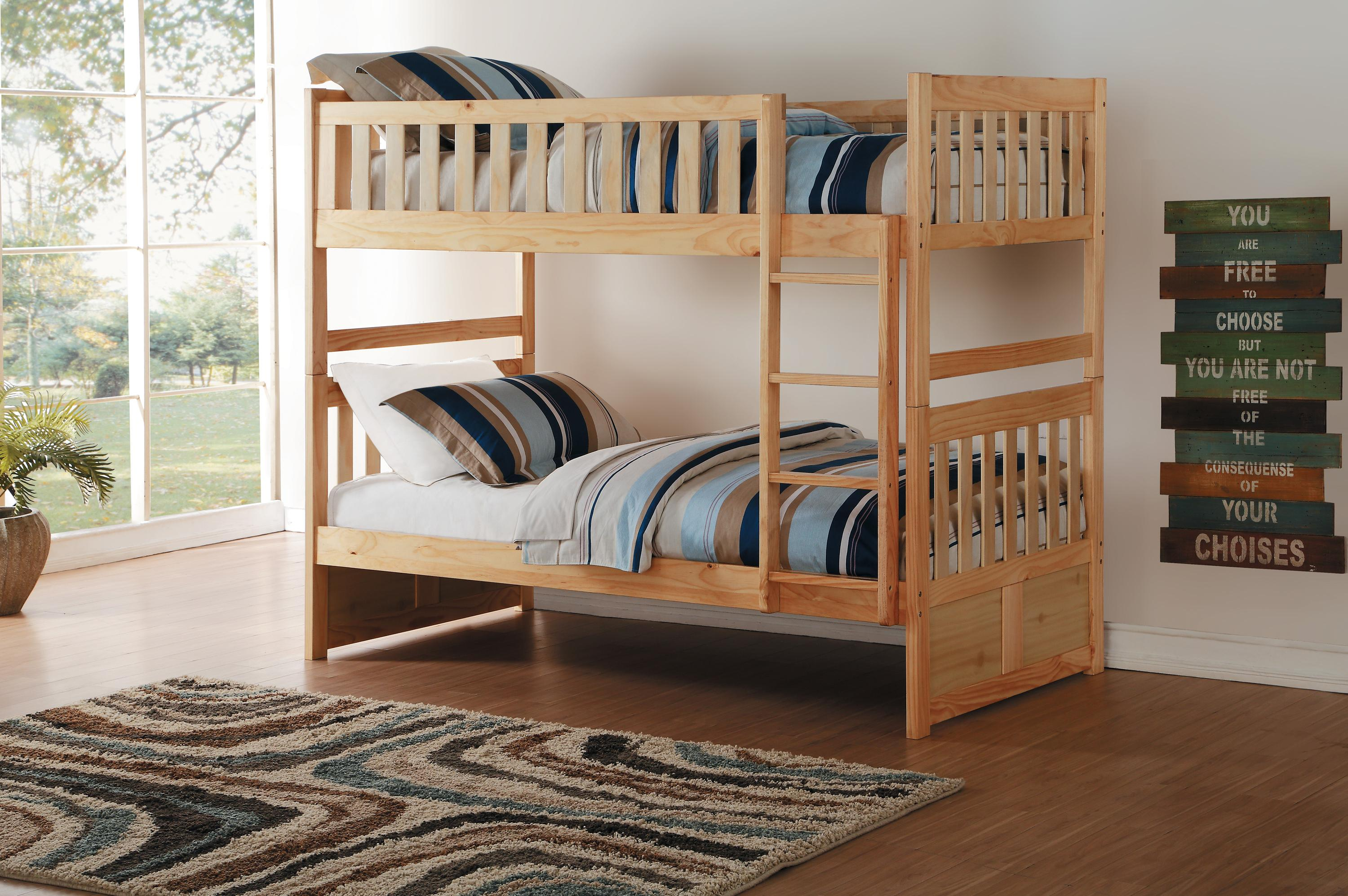 Bart Twin over Twin Bunk Bed
