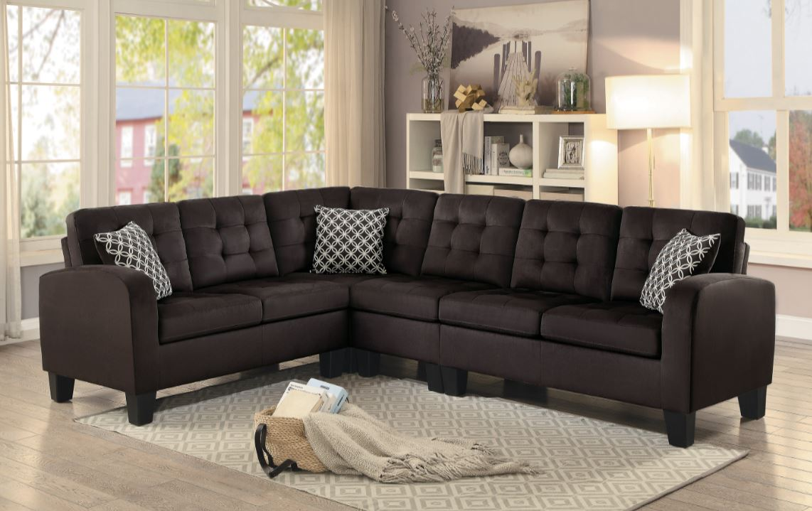 Sinclair Chocolate Sectional