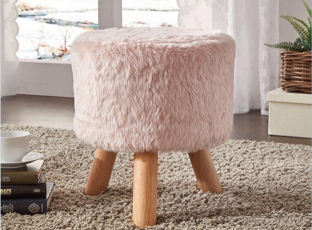 pouf otto pink