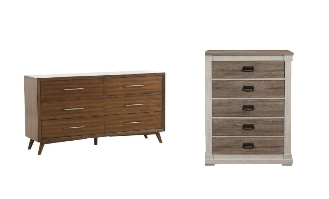 Dressers, Chest of Drawers & Night Stands