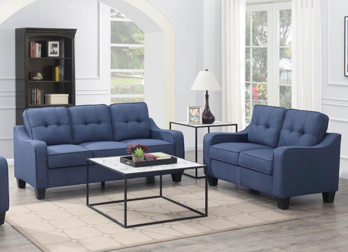 Modern 2 PC Set (Sofa&love)