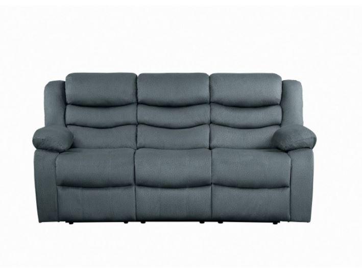 Discus Reclining Sofa Gray