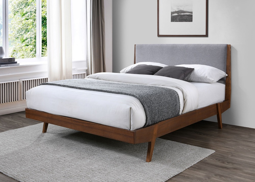 Mid Century Platform Bed FULL