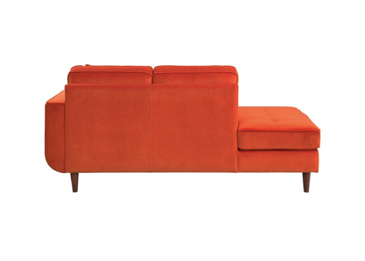 Rand Orange Chaise
