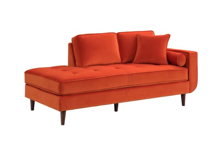 Rand Orange Chaise